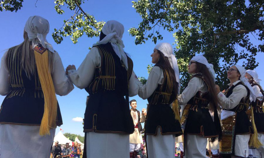 Greek dance, Edmonton, Kyklos