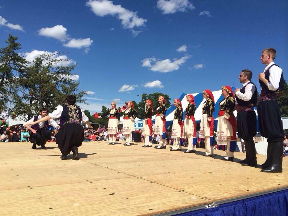 Kyklos Edmonton, Alberta, Greek dance group